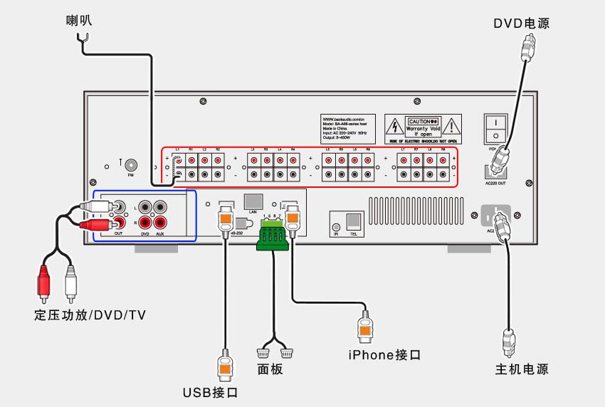 a66 - 泊声_家庭背景音乐系统